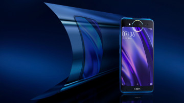 обоя бренды, iphone, смартфон, китай, флагман, два дисплея, dual display edition, vivo nex