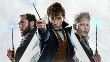 обоя кино фильмы, fantastic beasts,  the crimes of grindelwald, gellert, grindelwald, johnny, depp, eddie, redmayne