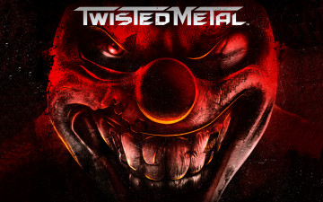 обоя twisted metal, видео игры, клоун