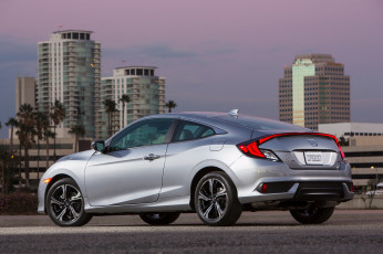 Картинка автомобили honda 2016г coupe civic