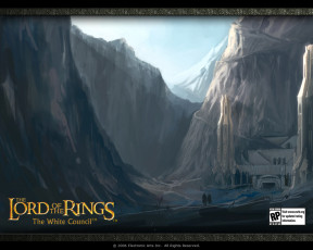 обоя видео, игры, the, lord, of, rings, white, council