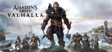 обоя assassin's creed,  valhalla, видео игры, ---другое, assassins, creed, valhalla, ролевая, action