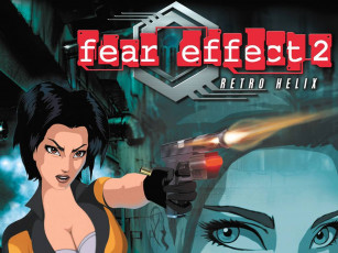 обоя fear, effect, retro, helix, видео, игры