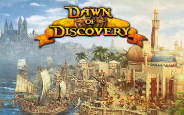 обоя anno, 1404, dawn, of, discovery, видео, игры
