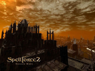 обоя видео, игры, spellforce, shadow, wars
