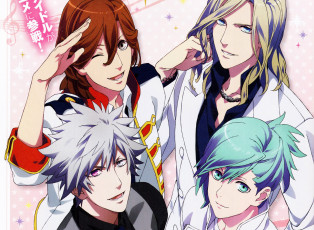 Картинка аниме uta+no+prince-sama quartet night