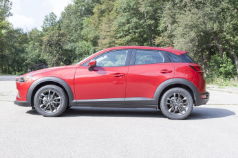 обоя mazda cx-3 review subcompact crossover 2018, автомобили, mazda, 2018, red, crossover, subcompact, review, cx-3