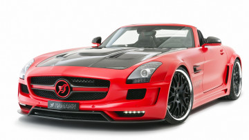 обоя hamann hawk roadster based on mercedes-benz sls amg roadster 2012, автомобили, mercedes-benz, 2012, based, hawk, roadster, amg, sls, hamann