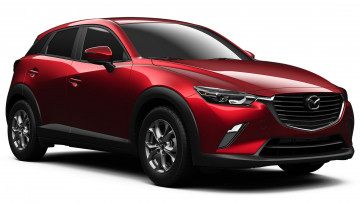 обоя mazda cx-3 review subcompact crossover 2018, автомобили, 3д, 2018, crossover, subcompact, cx-3, mazda, red, review