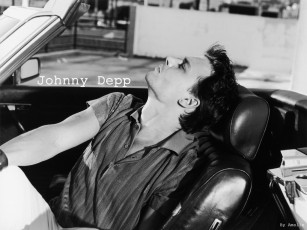 обоя jhonny, depp, мужчины, johnny