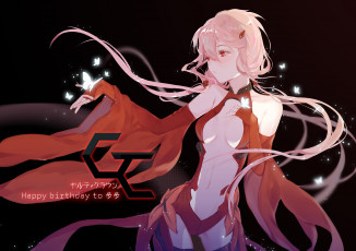Картинка аниме guilty+crown guilty crown yuzuriha inori yuzhi