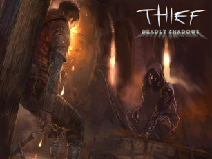 обоя видео, игры, thief, deadly, shadows