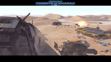 обоя homeworld,  deserts of kharak, видео игры, action, стратегия, deserts, of, kharak