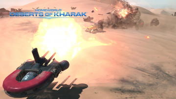 обоя homeworld,  deserts of kharak, видео игры, deserts, of, kharak, action, стратегия