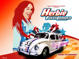 обоя herbie, fully, loaded, кино, фильмы