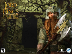 обоя lord, of, the, rings, return, king, видео, игры