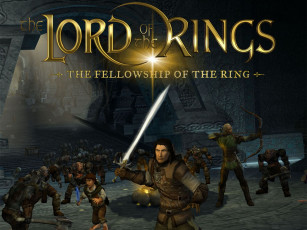 обоя видео, игры, the, lord, of, rings, fellowship, ring