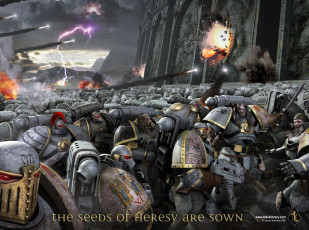 обоя warhammer, the, horus, heresy, видео, игры
