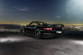 Картинка автомобили porsche 2016г cabriolet 991 turbo 911 techart