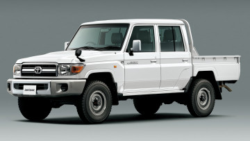 Картинка автомобили toyota land cruiser pickup 30th anniversary jp-spec grj79k 2014г