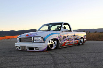 Картинка 1995-chevy-s10 автомобили custom+pick-up chevy