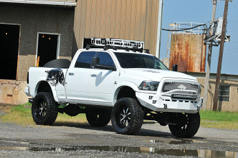 обоя 2010-dodge-ram-2500-razorback, автомобили, custom pick-up, dodge