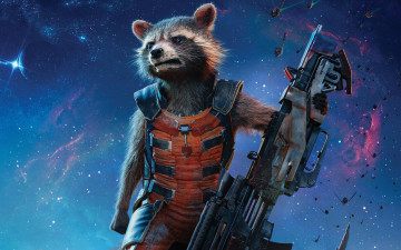 Картинка кино+фильмы guardians+of+the+galaxy+vol +2 rocket raccoon