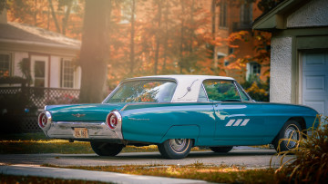 Картинка автомобили ford thunderbird
