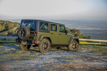 Картинка автомобили jeep jk br-spec unlimited 75th anniversary wrangler 2016г