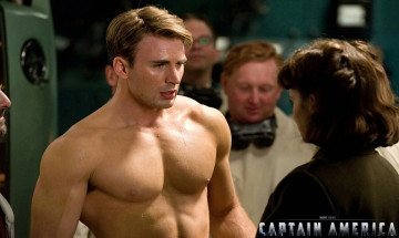 обоя кино, фильмы, captain, america, the, first, avenger, америка, капитан