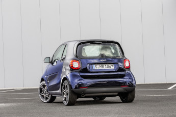 Картинка автомобили smart синий 2014г c453 tailor brabus fortwo coupе made
