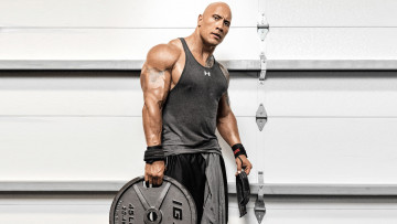 обоя мужчины, dwayne johnson , the rock, тату