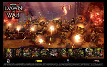 обоя warhammer, 40, 000, dawn, of, war, видео, игры, ii