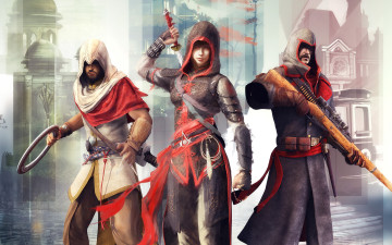 обоя assassin`s creed chronicles,  china, видео игры, - assassin`s creed chronicles, stealth, action, платформер, assassin's, creed, china, chronicles