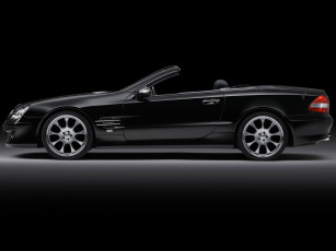 Картинка 2006 brabus sv12 biturbo roadster mercedes benz sl class автомобили