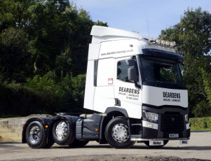 Картинка автомобили renault+trucks uk-spec 6x2 t 430 renault 2013г