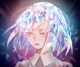Картинка аниме houseki+no+kuni страна самоцветов