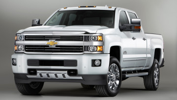 Картинка chevrolet+silverado+2500+hd+high+country+2015 автомобили chevrolet silverado 2500 hd high country 2015