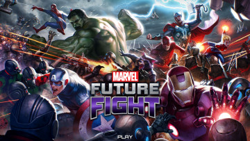 обоя видео игры, marvel,  future fight, future, fight