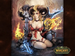 Картинка world of warcraft the burning crusade видео игры