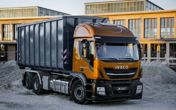 обоя iveco stralis x-way,  6x4, автомобили, iveco, crushed, stone, transportation, 6x4, dump, truck, new, trucks, самосвал, грузовики, stralis, x-way