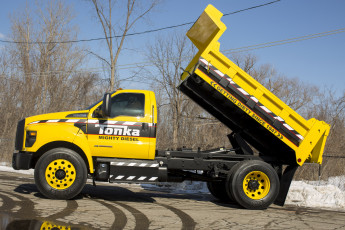 обоя автомобили, ford trucks, tonka, f-750, ford, 2016, г