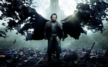 обоя кино фильмы, dracula untold, legendary, pictures, year, luke, evans, film, war, 2014, movie, untold, dracula, horror, fantasy, action, drama, man, universal, warrior, vampire, tepes, graf, vlad