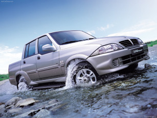 Картинка ssangyong musso sports 2005 автомобили ssang yong