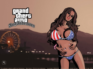 Картинка gta amy anderssen видео игры grand theft auto san andreas