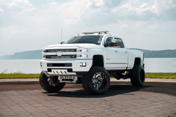 обоя автомобили, custom pick-up, chevrolet