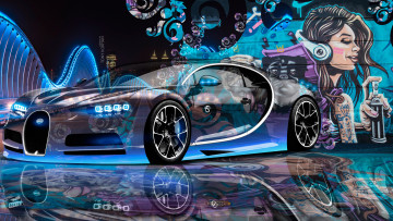 Картинка bugatti+chiron+3d+super+crystal+city+graffiti+girl+dogs+street+art+car+2016 автомобили 3д street art car 2016 dogs girl graffiti city bugatti chiron 3d super crystal