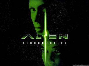 обоя alien, resurection, кино, фильмы, resurrection