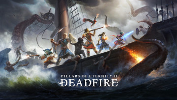 обоя pillars of eternity 2,  deadfire, видео игры, pillars, of, eternity, 2, deadfire, ролевая, action