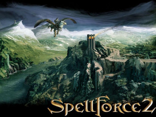 обоя spell, force, ll, видео, игры, spellforce, shadow, wars